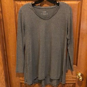 Pure J.Jill top with gathered back.